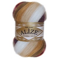 Alize Angora Gold Batik (80% Акрил 10% Мохер 10% Шерсть, 100гр/550м)