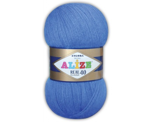 Alize Angora Real 40 (60% Акрил 40% Шерсть, 100гр/480м)
