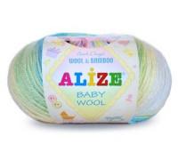 Пряжа Alize Baby Wool Batik Ализе Беби Вул Батик купить на официальном сайте pryazha-vsem.ru недорого по невысоким ценам, со скидками почти по оптовым ценам дешево в магазине Пряжа ВСЕМ