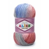 Alize Cotton Gold Batik (45% Акрил 55% Хлопок, 100гр/330м)