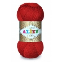 Alize Diva (100% Акрил Микрофибра, 100гр/350м)