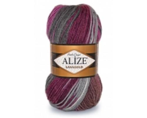 Alize Lanagold Batik (51% Акрил 49% Шерсть, 100гр/240м)