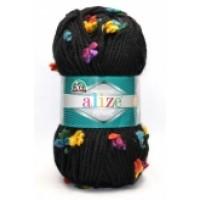 Alize Superlana Maxi Flower (70% Акрил 5% Полиамид 25% Шерсть, 100гр/80м)