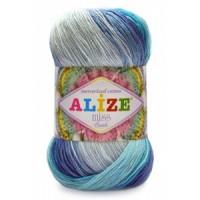 Alize Miss Batik (100% Хлопок Мерсеризованный, 50гр/280м)