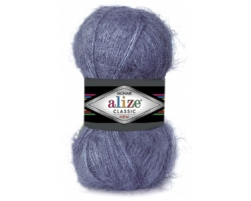 Alize Mohair Classic (51% Акрил 25% Мохер 24% Шерсть, 100гр/200м)
