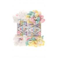 Alize Puffy Color (100% Микрополиэстр, 100гр/9,5м)