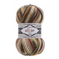 Alize Superlana Maxi Multicolor (75% Акрил, 25% Шерсть, 100гр/100м)