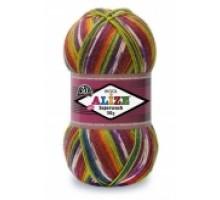 Alize Superwash 100 (25% Полиамид 75% Шерсть, 100гр/420м)