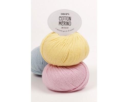 Пряжа Drops Cotton Merino Дропс Коттон Мерино купить на официальном сайте pryazha-vsem.ru недорого по невысоким ценам, со скидками почти по оптовым ценам дешево в магазине Пряжа ВСЕМ