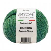 Etrofil Rainbow (75% органический меринос, 25% полиамид, 50гр/150м)