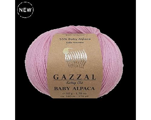 Gazzal Baby Alpaca (55% Альпака 45% Шерсть Мериносовая, 50гр/160м)