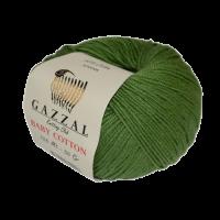 Gazzal Baby Cotton (40% Полиакрил 60% Хлопок, 50гр/165м)