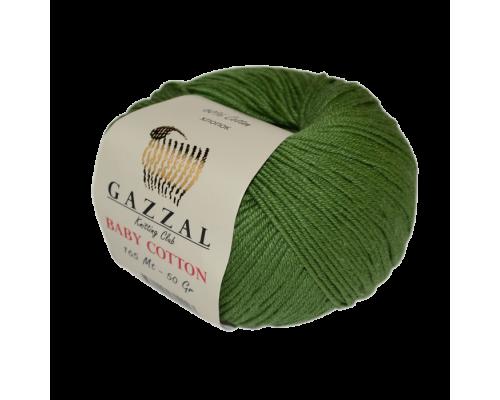 Пряжа Gazzal Baby Cotton Газзал Беби Котон купить на официальном сайте pryazha-vsem.ru недорого по невысоким ценам, со скидками почти по оптовым ценам дешево в магазине Пряжа ВСЕМ