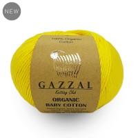 Gazzal Organic Baby Cotton (100% Хлопок Органический, 50гр/115м)