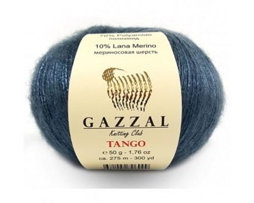 Gazzal Tango (20% Полиакрил 70% Полиамид 10% Шерсть Мериносовая, 50гр/275м)