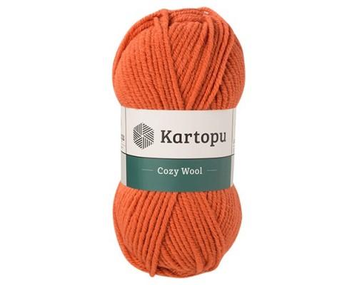 Kartopu Cozy Wool (75% Акрил 25% Шерсть, 100гр/110м)