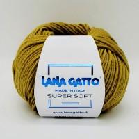 Lana Gatto Super Soft (100% Экстратонкая Мериносовая Шерсть, 50гр/125м)