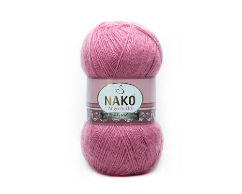 Nako Angora Luks (80% Акрил 10% Мохер 10% Шерсть, 100гр/550м)