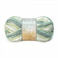 Nako Calico Jakar (50% Акрил Премиум 50% Хлопок, 100гр/245м)