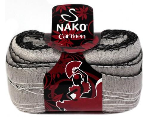 Nako Carmen (90% Акрил Премиум 10% Полиэстр, 100гр/49м)