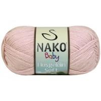 Nako Hosgeldin Soft (60% Бамбук 40% Полиамид, 100гр/230м)