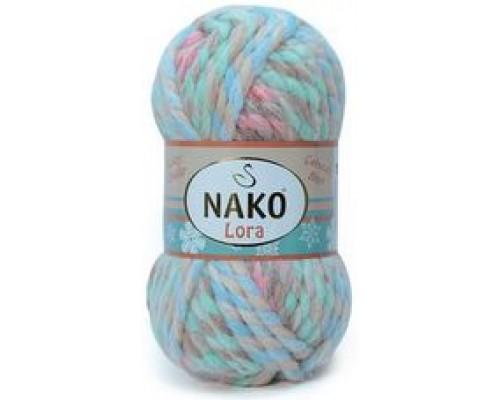Nako Lora (80% Акрил 20% Шерсть, 100гр/35м)