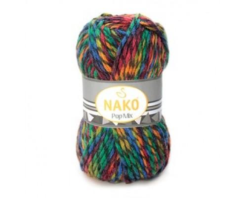 Nako Pop Mix (75% Акрил 25% Шерсть, 100гр/120м)