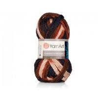 YarnArt Flamenko Midnight (92% Акрил 8% Металлик, 100гр/30м)