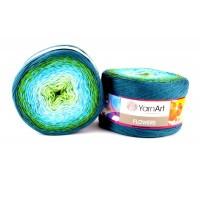 YarnArt Flowers (45% Полиакрил 55% Хлопок, 250гр/1000м)