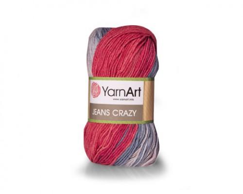 Пряжа YarnArt Jeans Crazy Ярнарт Джинс Крейзи купить на официальном сайте pryazha-vsem.ru недорого по невысоким ценам, со скидками почти по оптовым ценам дешево в магазине Пряжа ВСЕМ