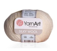 Пряжа YarnArt Silky Wool Ярнарт Силки Вул купить на официальном сайте pryazha-vsem.ru недорого по невысоким ценам, со скидками почти по оптовым ценам дешево в магазине Пряжа ВСЕМ