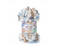 Пряжа Alize Puffy Fine Color Ализе Пуффи Файн Колор купить на официальном сайте pryazha-vsem.ru недорого по невысоким ценам, со скидками почти по оптовым ценам дешево в магазине Пряжа ВСЕМ