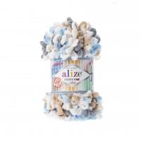 Alize Puffy Fine Color(100% Микрополиэстр, 100гр/14,5м)