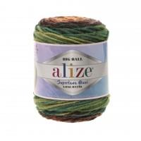 Alize Superlana Maxi Long Batik (75% Акрил, 25% Шерсть, 250гр/250м)