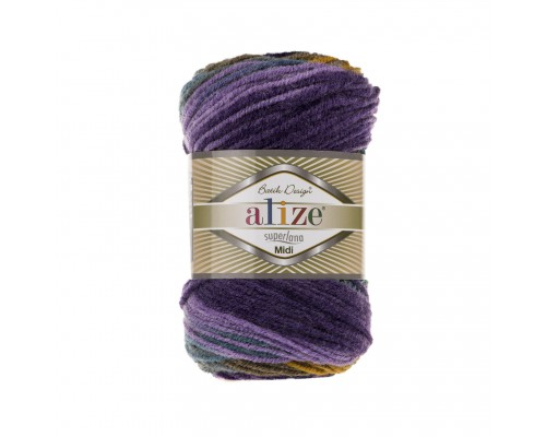 Alize Superlana Midi Batik (25% Шерсть, 75% Акрил, 100гр/170м)