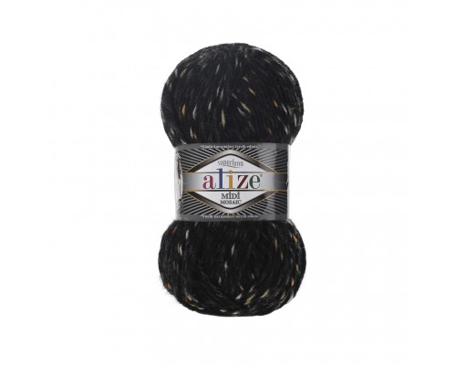 Alize Superlana Midi Mosaic (25% Шерсть, 75% Акрил, 100гр/170м)