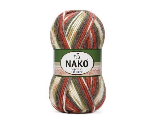 NakoSuperInciHitJakar (25% шерсть 75% акрил, 100гр/180м)
