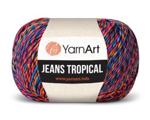 Пряжа YarnArt Jeans Tropical  Ярнарт Джинс Тропикал  купить на официальном сайте pryazha-vsem.ru недорого по невысоким ценам, со скидками почти по оптовым ценам дешево в магазине Пряжа ВСЕМ